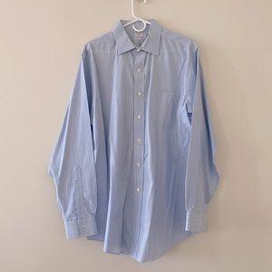 Brooks brothers dress shirt slim fit size 16.5